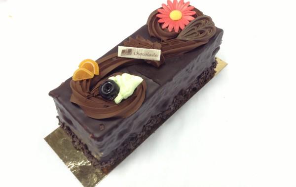 Chocolade-ganacheschnitte