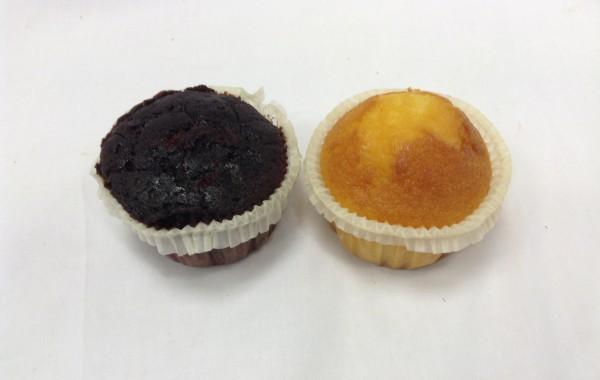 Muffins (naturel, chocola)