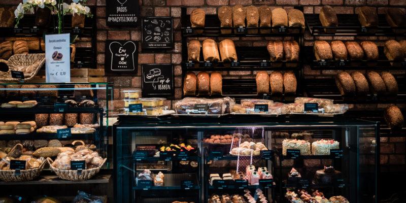 Dagelijks vers brood en gebak